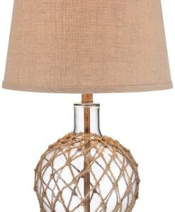12-rope-around-clear-glass-ball-table-lamp-247x300 Floor and Table Rope Lamps