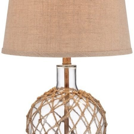 12-rope-around-clear-glass-ball-table-lamp-450x450 Nautical Themed Lamps