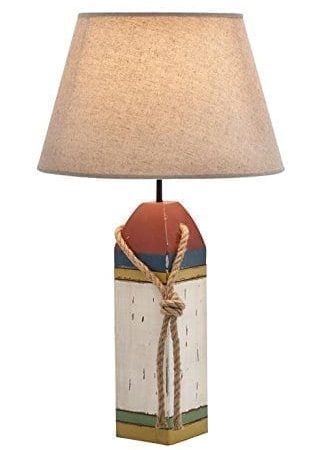 12-wood-buoy-nautical-table-lamp-322x450 100+ Coastal Themed Lamps