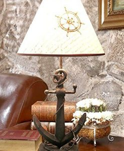13-nautical-anchor-chain-table-lamp-247x300 The Best Anchor Lamps You Can Buy