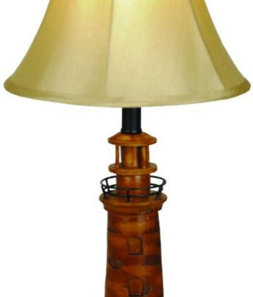 13-nautical-brown-lighthouse-table-lamp