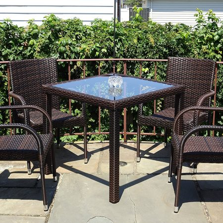 14-outdoor-resin-patio-5pc-wicker-dining-set-450x450 Best Outdoor Wicker Patio Furniture