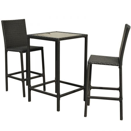 15-high-top-3pc-outdoor-wicker-dining-set-450x450 Best Outdoor Wicker Patio Furniture