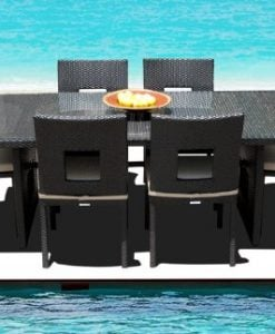 15-outdoor-brown-wicker-patio-dining-set-247x300 The Best Wicker Dining Sets You Can Buy