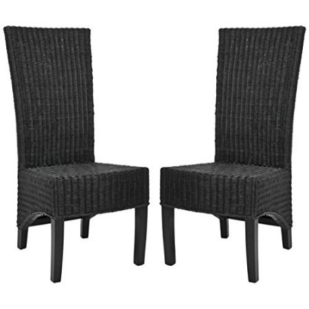 16-safavieh-black-medium-wicker-chairs-450x450 Best Outdoor Wicker Patio Furniture