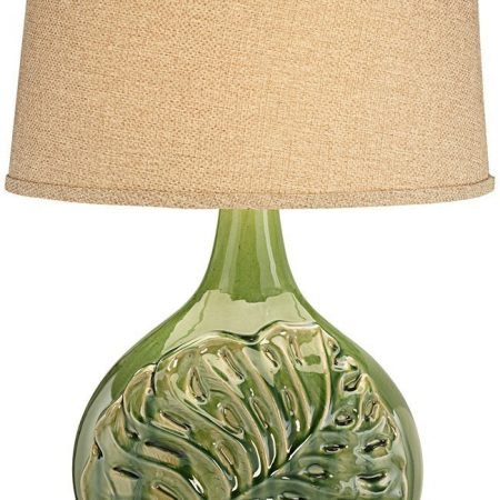 18-pacific-coast-green-palm-leave-table-lamp-450x450 100+ Coastal Themed Lamps