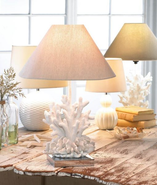 Core of Decor White Coral Table Lamp