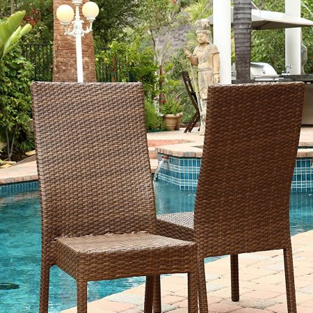 1b-abbyson-living-wicker-dining-chairs-450x450 Best Outdoor Wicker Patio Furniture