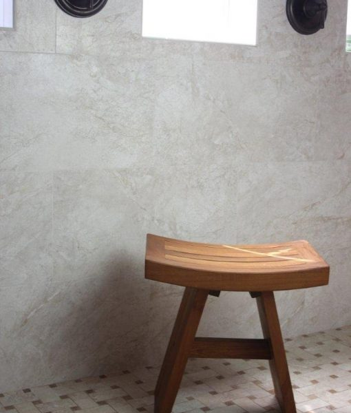 "Original Asian Style 18"" Teak Shower Bench"