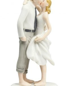 Beach Get Away Wedding Cake Topper