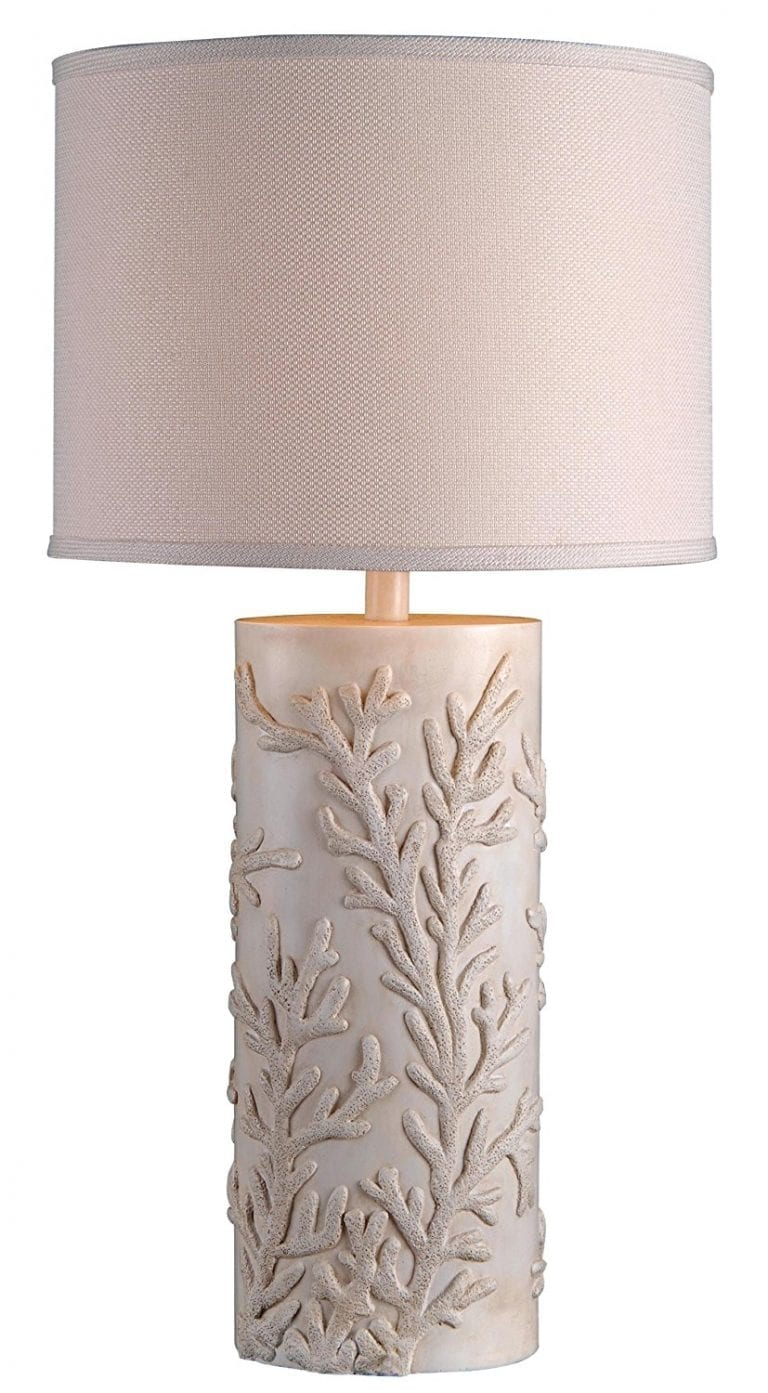 Kenroy Coral Reef Coastal Table Lamp