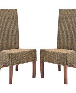 21 Safavieh Home Honey Brown Wicker Chairs 247x300 Best