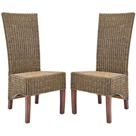 21-safavieh-home-honey-brown-wicker-chairs-450x450 Best Outdoor Wicker Patio Furniture