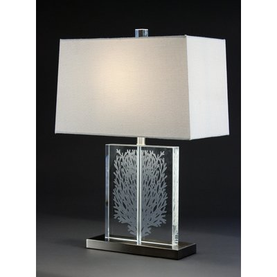 Bungalow Belt Coral Beach Table Lamp