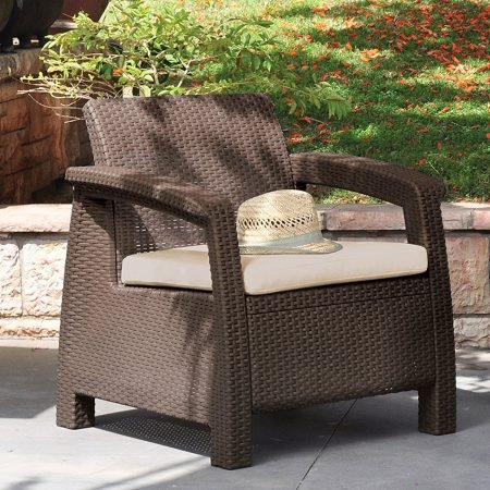3-Keter-Corfu-4PC-Wicker-Brown-Chair-450x450 Best Outdoor Wicker Patio Furniture