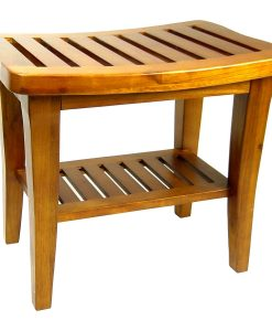 Redmon Indoor Outdoor Teak Wood Bench