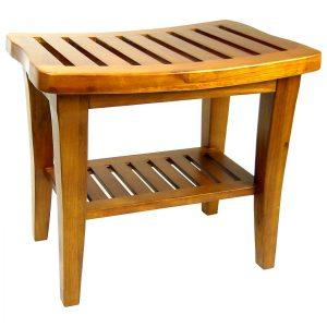 Redmon Indoor Outdoor Teak Wood Bench