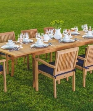 Luxurious 9-PC Grade-A Teak Dining Set