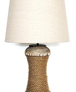 Nautical Themed Pier Rope Table Lamp
