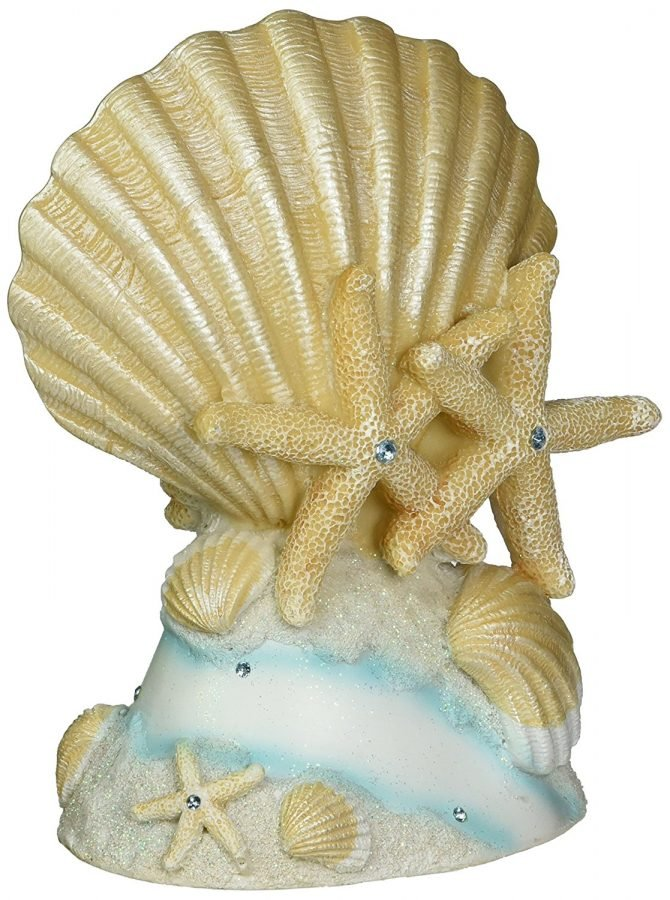 Life\'s A Beach Collection Wedding Cake Topper