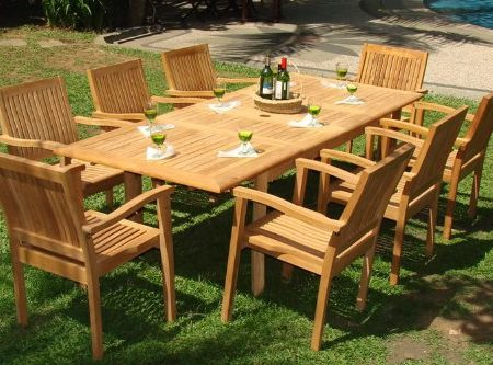3b-luxurious-9pc-grade-a-teak-dining-set-450x333 The Ultimate Guide to Outdoor Teak Furniture