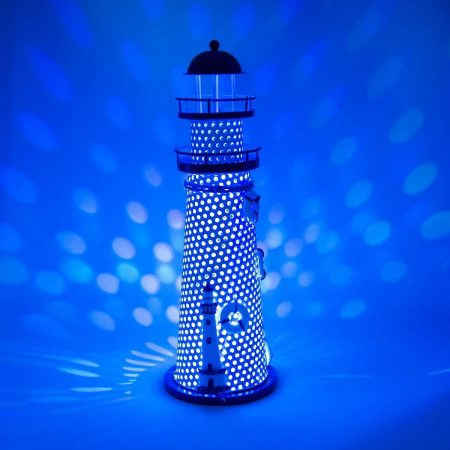 Nautical Ocean Color Changing Lighthouse Night Light