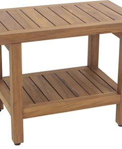 AquaTeak Original Spa Teak Shower Bench