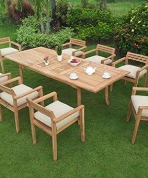 9-PC Grade-A Teak Wood Dining Set