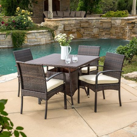 4-carmela-5pc-small-outdoor-wicker-dining-set-450x450 Best Outdoor Wicker Patio Furniture