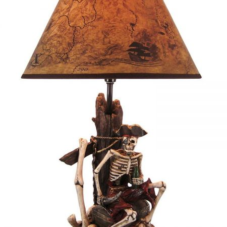 4-pirate-skeleton-island-treasure-table-lamp-450x450 Nautical Themed Lamps