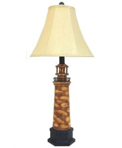 Santa's Workshop Lighthouse Table Lamp