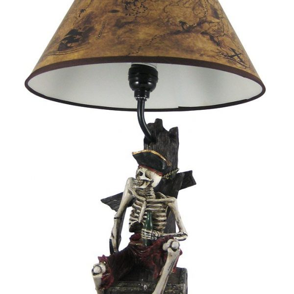 4b-pirate-skeleton-island-treasure-table-lamp-600x600 Best Nautical Themed Lamps