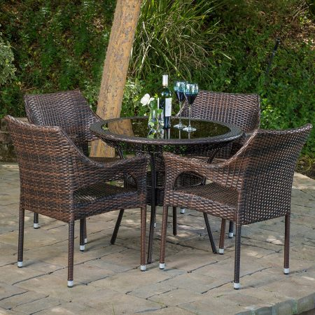 5-del-mar-outdoor-wicker-dining-set-450x450 Best Outdoor Wicker Patio Furniture