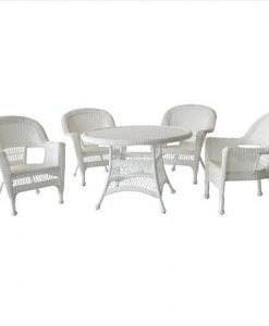 5-jeco-5pc-white-wicker-dining-set-247x300 The Best Wicker Dining Sets You Can Buy