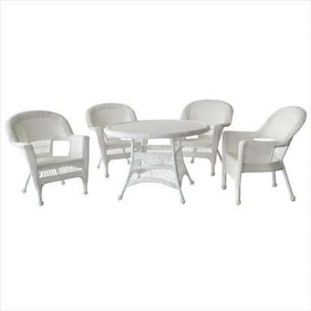 5-jeco-5pc-white-wicker-dining-set-450x450 Best Outdoor Wicker Patio Furniture