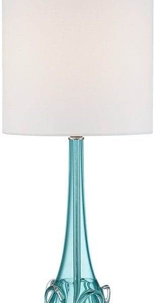 Possini Euro Dinah Glass Bubble Table Lamp