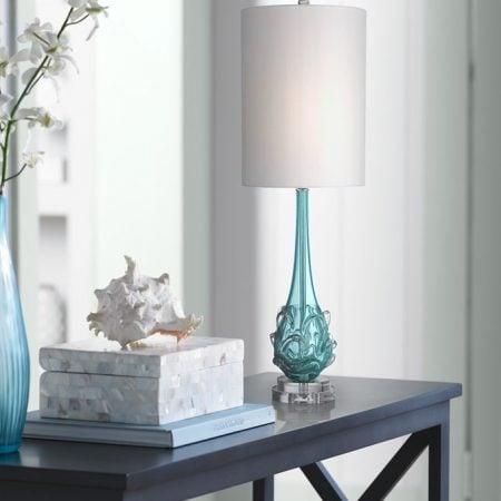 5b-possini-euro-dinah-glass-bubble-table-lamp-450x450 100+ Coastal Themed Lamps
