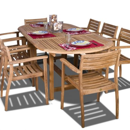 6-amazonia-oval-coventry-teak-dining-set-450x450 The Ultimate Guide to Outdoor Teak Furniture