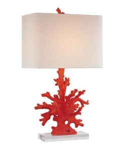 Dimond Lighting Red Coral Table Lamp
