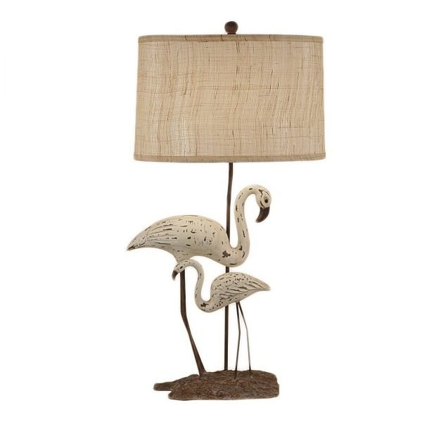 Greenwich Shore White Bird Table Lamp