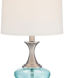 6-reiner-blue-glass-and-steel-table-lamp-247x300 The Best Beach Themed Lamps You Can Buy