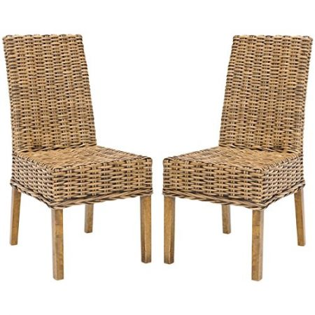 7-Safavieh-Sanibel-Wicker-Chairs-450x450 Best Outdoor Wicker Patio Furniture
