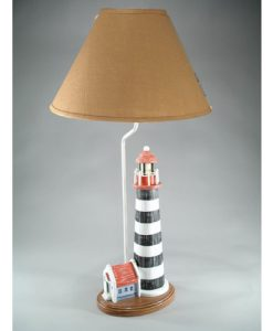 Nantucket Themed Lighthouse Table Lamp