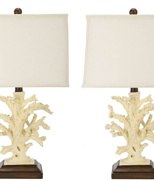 Safavieh Key West Coral Beach Lamps