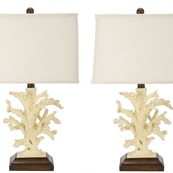 7-safavieh-key-west-coral-beach-lamps-600x600 The Best Coral Lamps You Can Buy