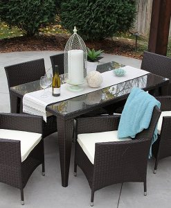 ... 7b All Weather Outdoor Wicker Dining Set 247x300 Best Part 43