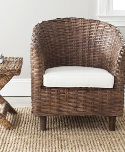 Safavieh Omni Honey Wicker Chair