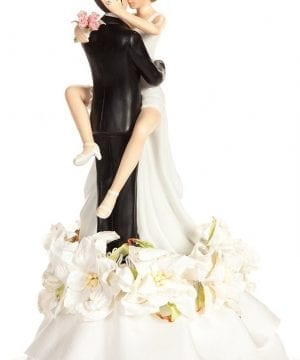 Sexy Hawaiian Beach Wedding Cake Topper