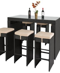 8-best-choice-products-wicker-barstool-dining-set-247x300 The Best Wicker Dining Sets You Can Buy