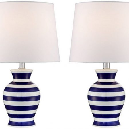 8-camden-dark-blue-and-white-striped-nautical-lamp-450x450 Nautical Themed Lamps